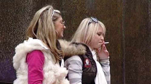 Mladistvé kuřačky