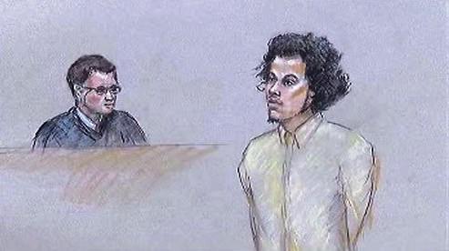 Antonio Martinez u soudu
