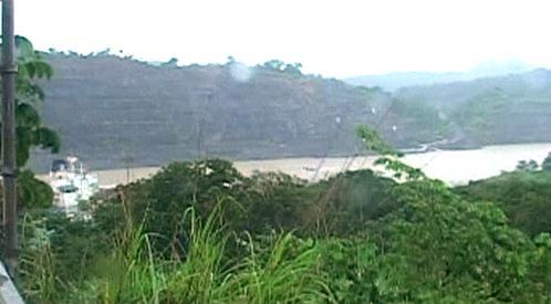 Uzavřený Panamský průplav
