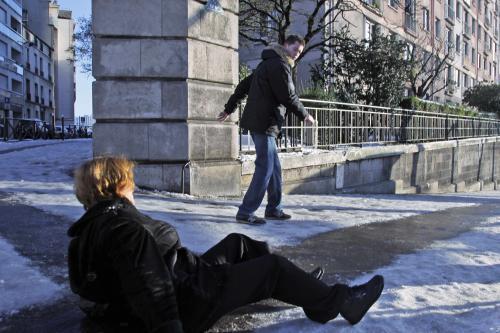 Nástrahy francouzské zimy