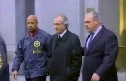 Madoff v rukou policie