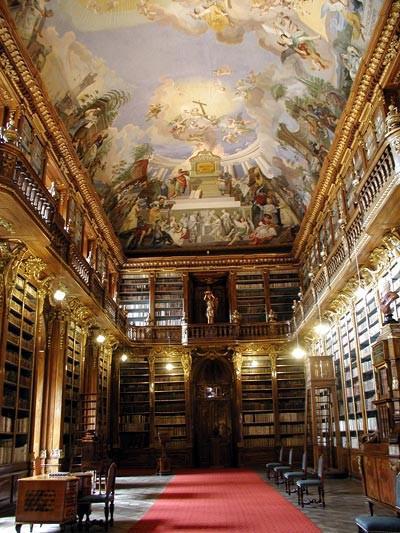 Filozofický sál ve Strahovské knihovně
