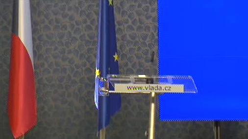 Tisková konference vlády