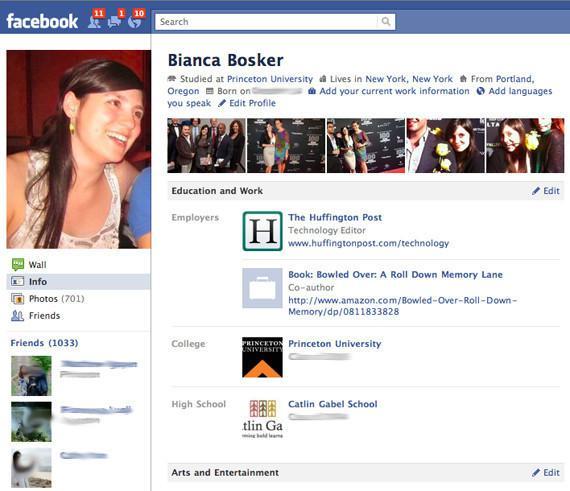 Nový vzhled profilu na Facebooku