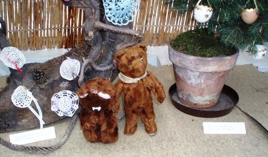 Plyšoví medvídci  na výstavě Dárky od Ježíška