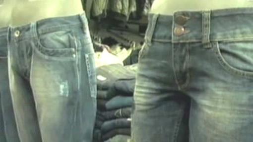 Ošoupané džíny