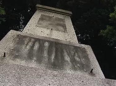 Památník bez ukradené desky