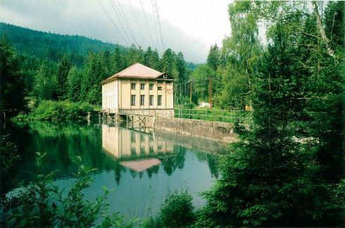 Černé jezero - první přečerpávací elektrárna