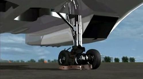 Počítačová simulace nehody concordu