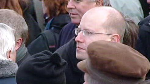 Demonstrace proti reformě veřejných financí z roku 2003