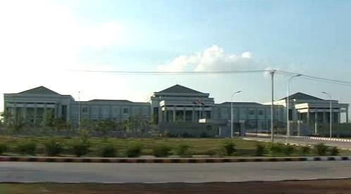 Paláce vojenské junty v Naypyidaw