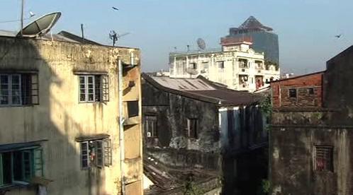 Zchátralý Rangún