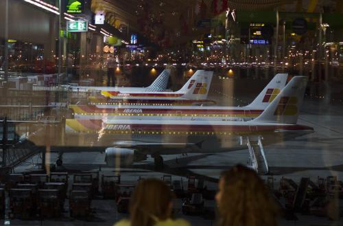 Letadla společnosti Iberia