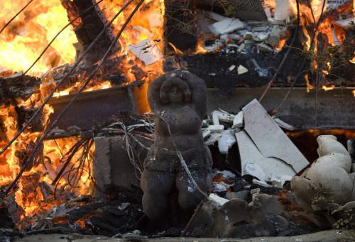 Požár v severní Izraeli
