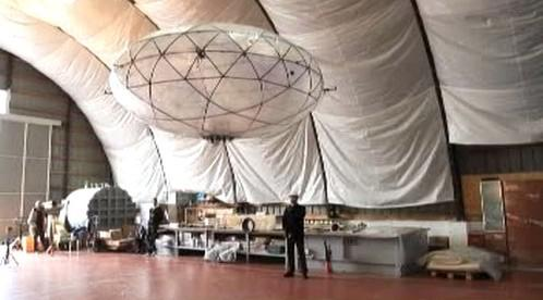 Prototyp chorvatské vzducholodi