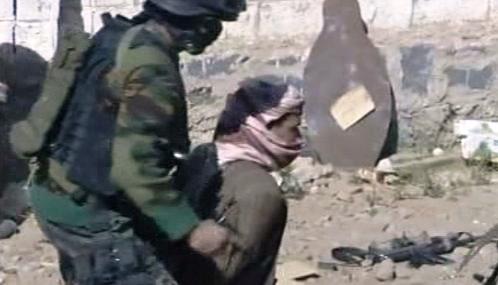 Zatčení teroristy