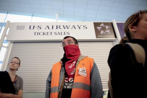 Stávka na španělských letištích