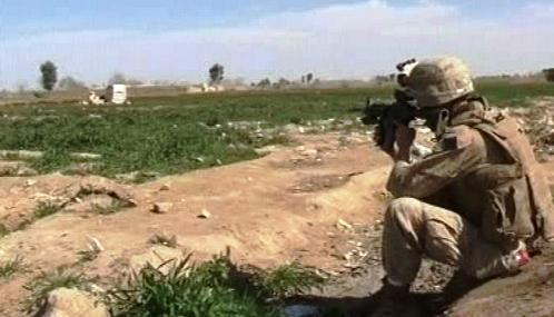 Spojenečtí vojáci v Afghánistánu