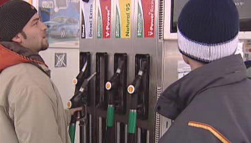 Nakupování benzínu