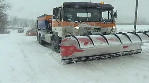 Sněhová nadílka v Polsku