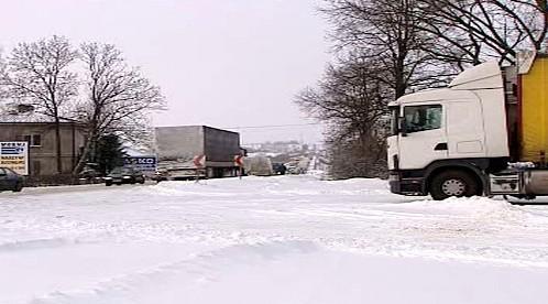 Sníh v Polsku