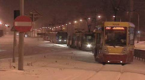 Kolaps dopravy v Polsku