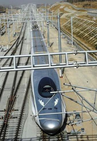 Rekordní čínský osobní vlak