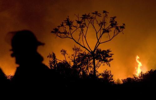 Požár v Izraeli