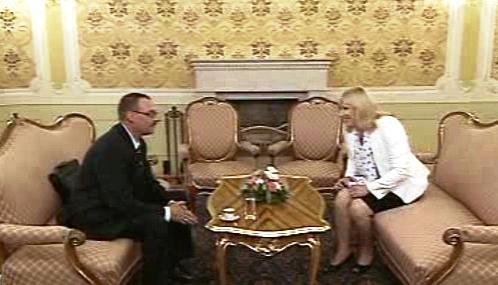 Dobroslav Trnka a Iveta Radičová