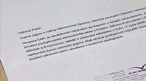 Dopis EMC