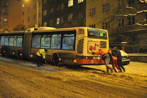 Problémy MHD v Praze