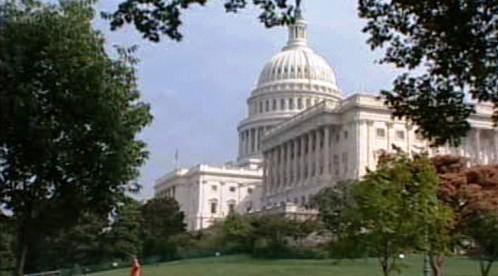 Kapitol ve Washingtonu