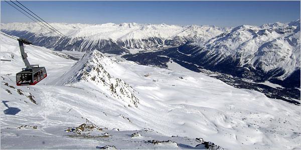 Alpy - St. Moritz