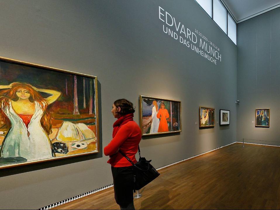 Výstava děl E. Muncha v Leopoldově muzeu ve Vídni