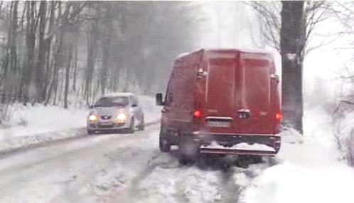 Sněhová kalamita v Polsku