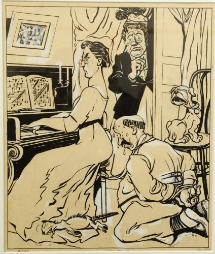 Josef Lada / Povinný poslech (1911)