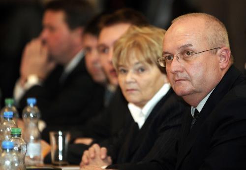 Vlastimil Ondráček a Hana Orgoníková