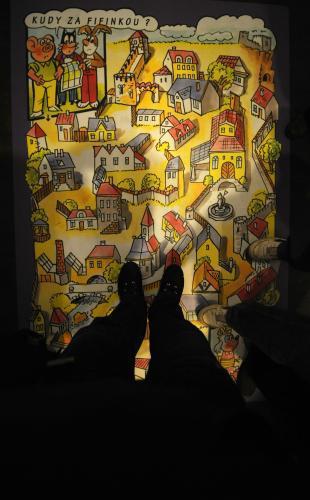 Výstava Čtyřlístek - pětisté dobrodružství