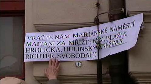 Demonstrace proti pražské koalici