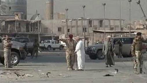 Vyšetřování útoku v Bagdádu