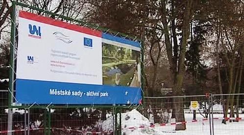 Park v Ústí nad Labem