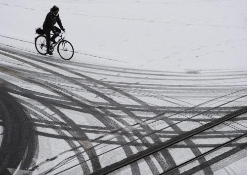 Sníh ve Švýcarsku