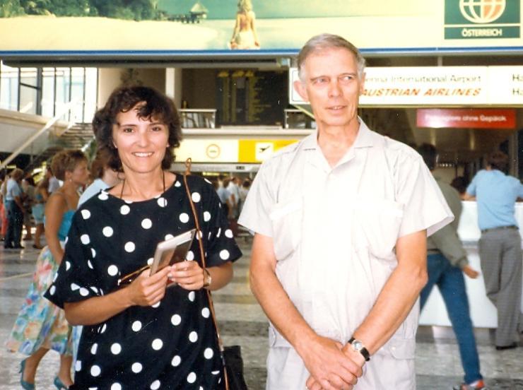 Manželé Medkovi - v roce 1987