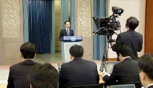 I Mjong-bak pohrozil Pchjongjangu odvetou