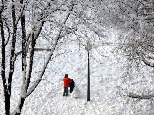 Sníh v Chorvatsku