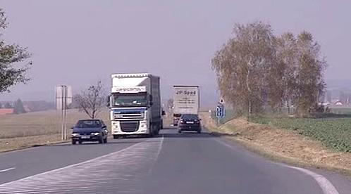 Kamion na silnici