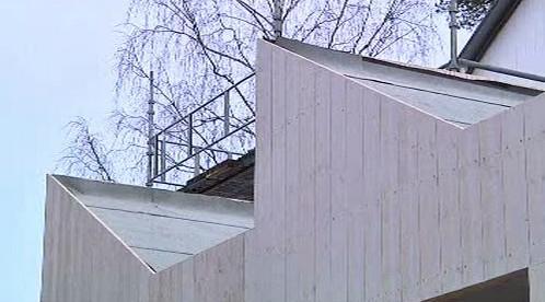 Střecha nízkoenergetického domu