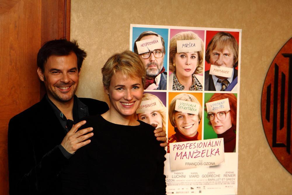 François Ozon a Judith Godrècheová