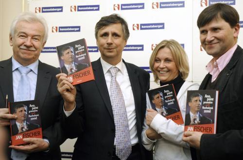 Fischer křtí knihu