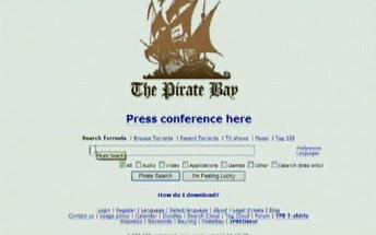 Server The Pirate Bay